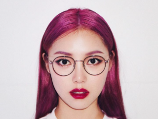 Nhuộm tóc màu tím – Nàng thơ mới năm 2018!