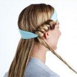 Tạo kiểu tóc xoăn bằng cách tết tóc, mẹo dễ không ngờ!