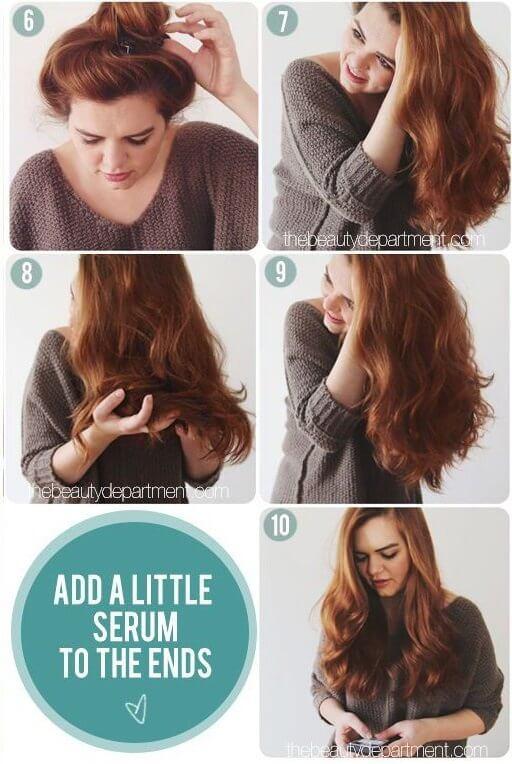 cách uốn tóc tại nhà