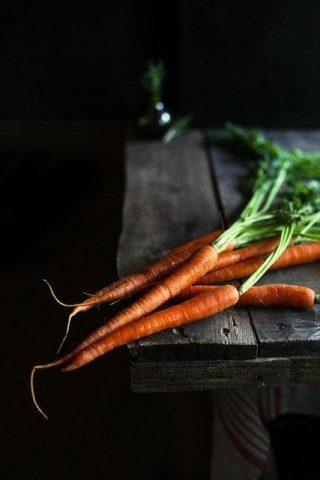 làm đẹp với cà rốt