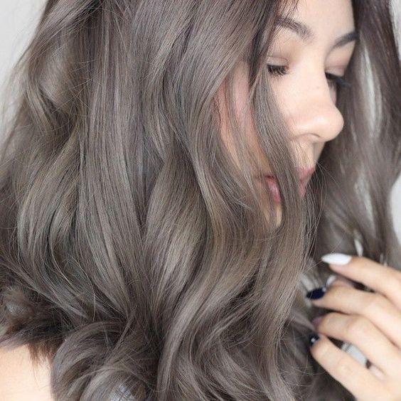 màu tóc bạc
