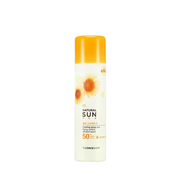 Kem chống nắng dạng xịt Hàn Quốc - Natural Sun Eco Cooling Spray