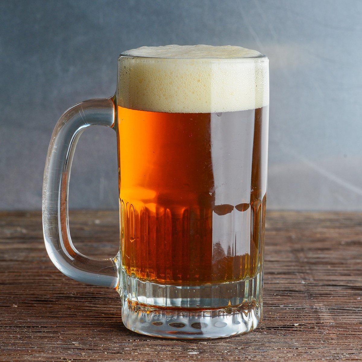 sữa tươi và bia