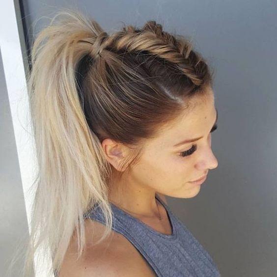 Tết tóc dọc phong cách