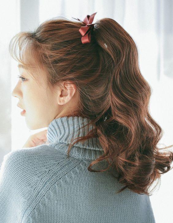 nhuộm tóc màu nâu đồng