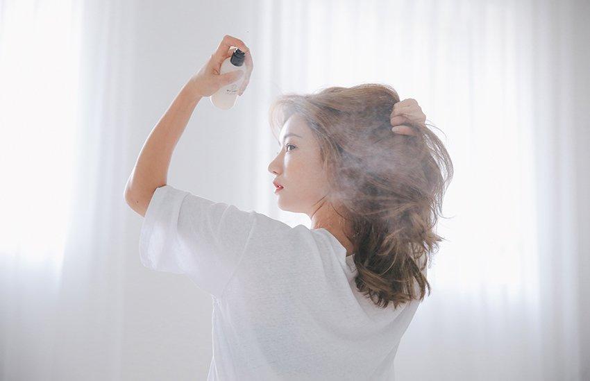 xịt dưỡng tóc uốn gợn sóng lọn to