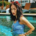 Sao Việt chọn kiểu tóc nào khi đi biển?