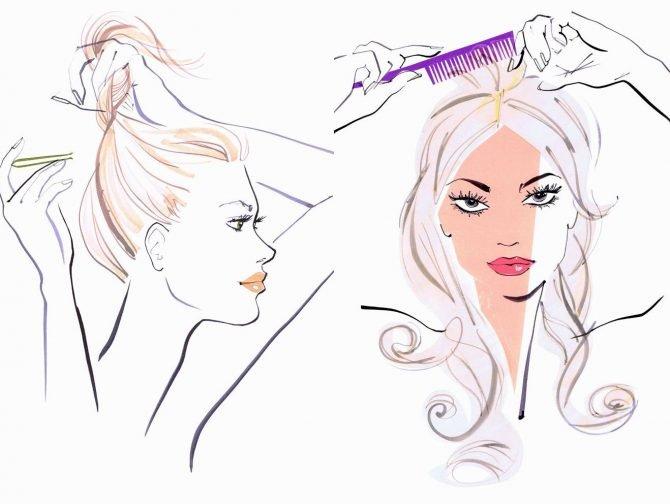 kiểu tóc hợp với tóc mỏng