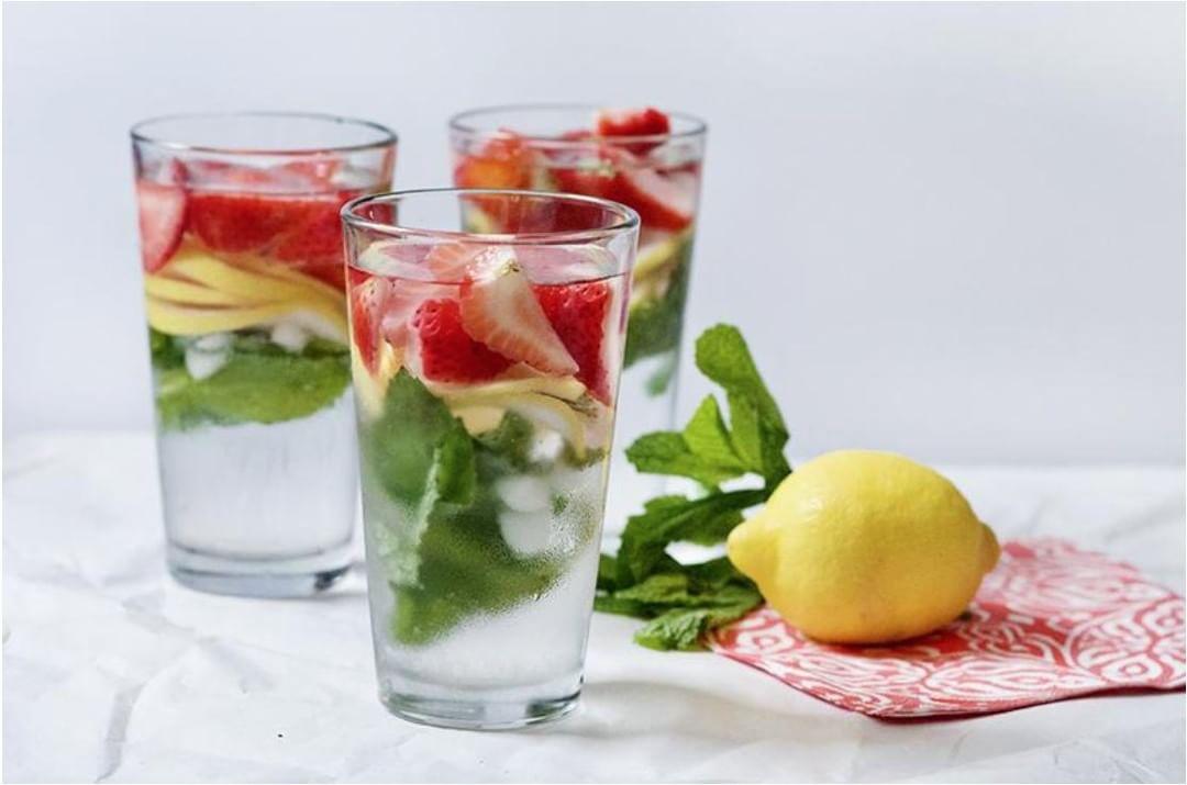 4 công thức nước detox giải độc gan thận đơn giản dễ làm