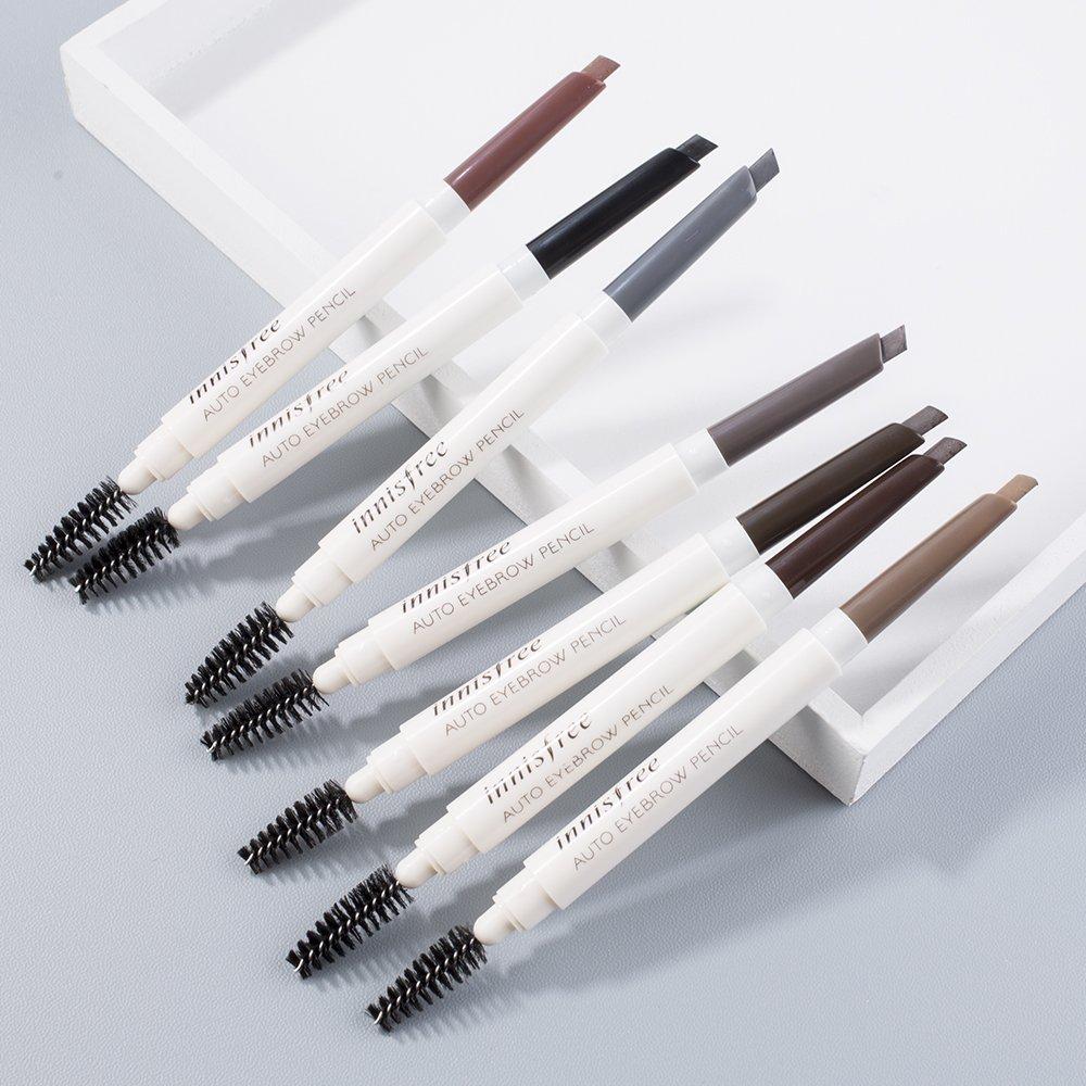 """Cùng """"mổ xẻ"""" bảng màu của chì kẻ mày Innisfree auto eyebrow pencil, có gì hot đến vậy?"""