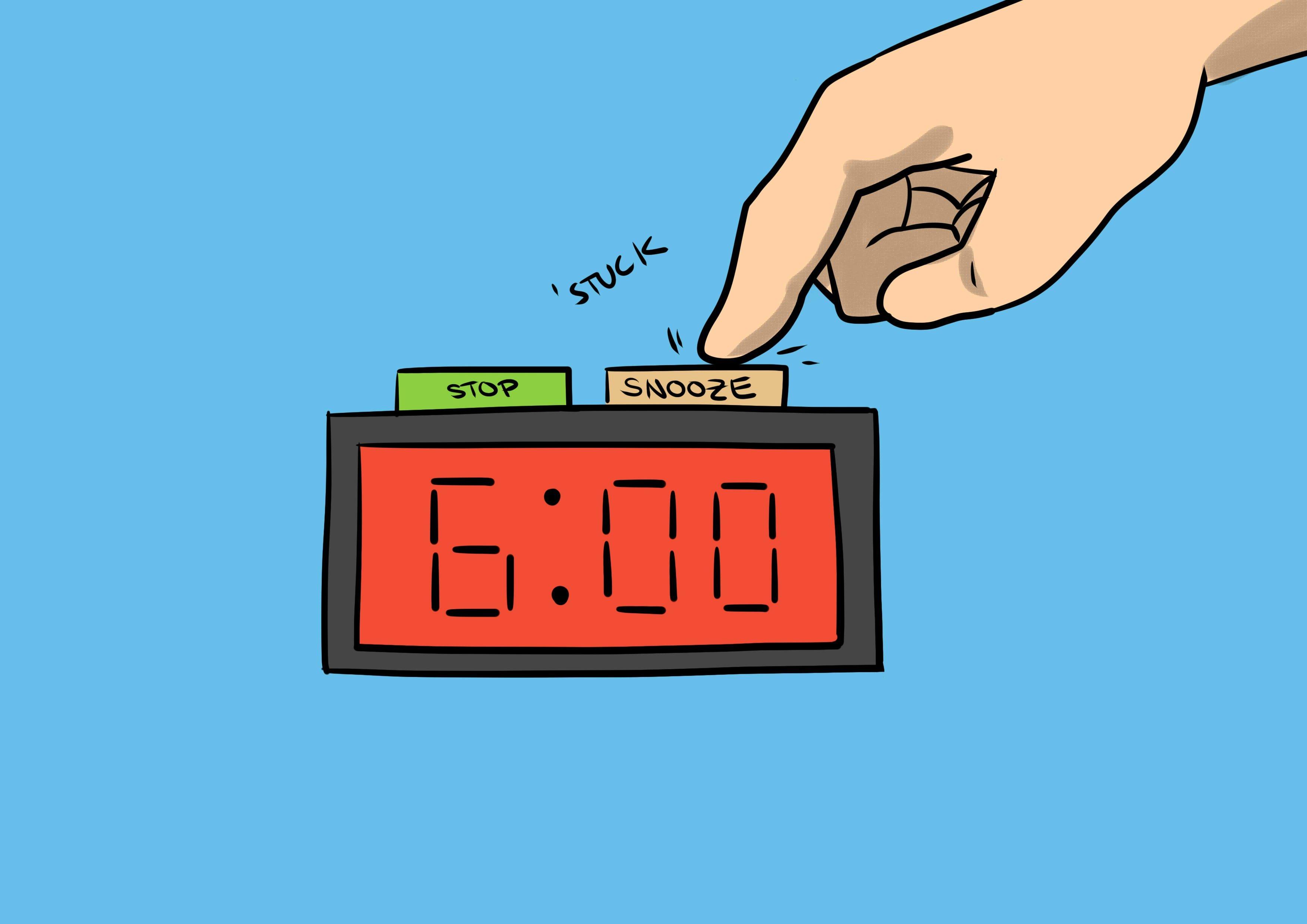 """5 mẹo giúp bạn thôi ấn nút """"snooze"""" mỗi sáng và đi làm đúng giờ!"""