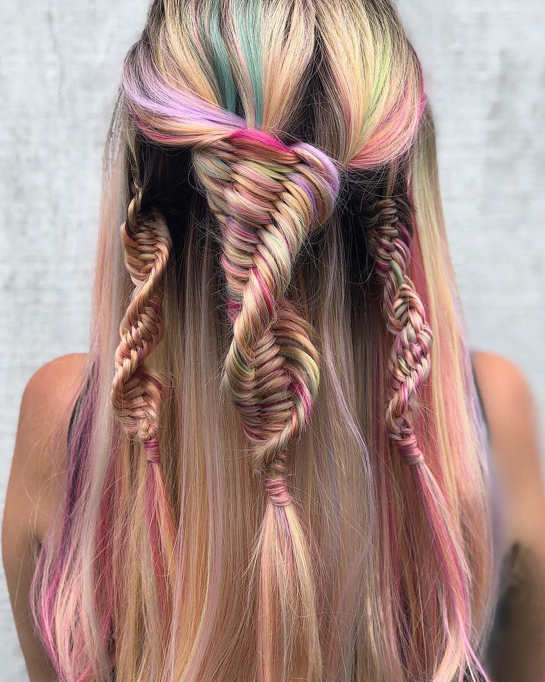Tết tóc kiểu DNA – trào lưu đang làm mưa làm gió trên instagram