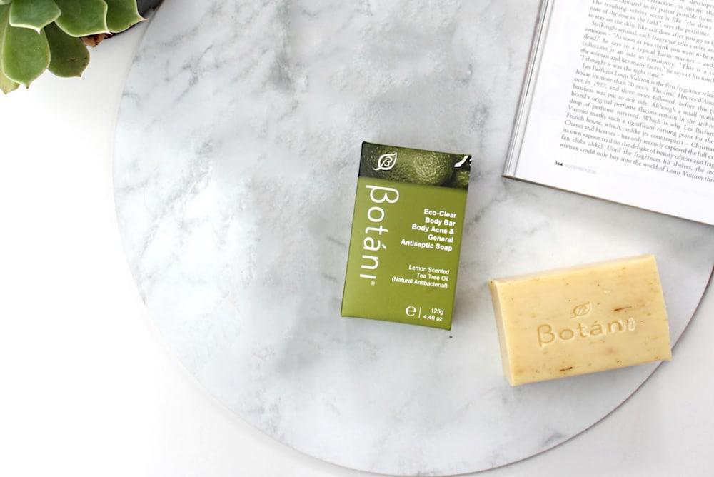 Xà Phòng Trị Mụn Lưng Eco-Clean Body Bar Body Acne $ General Antiseptic Soap Botani