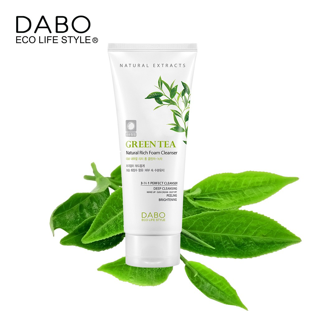 Dabo Green Tea Foam Cleanser