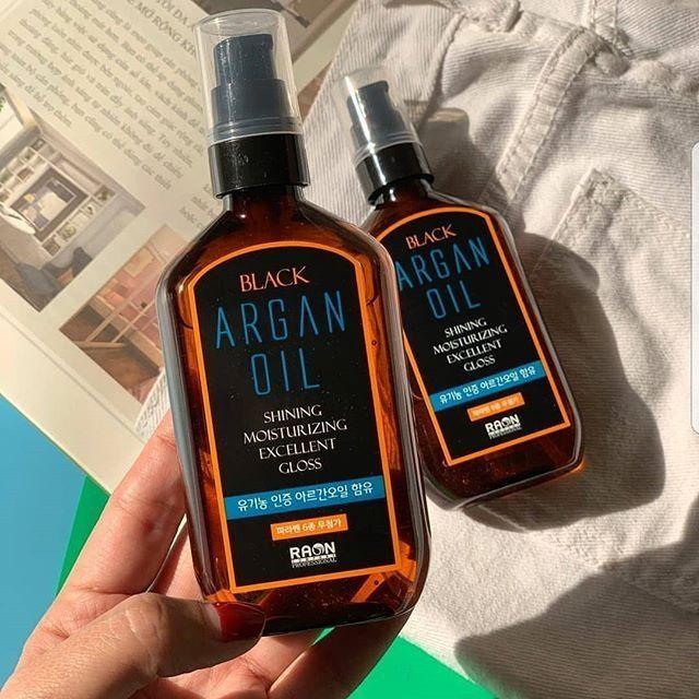Tinh dầu dưỡng tóc The Black Argan Oil