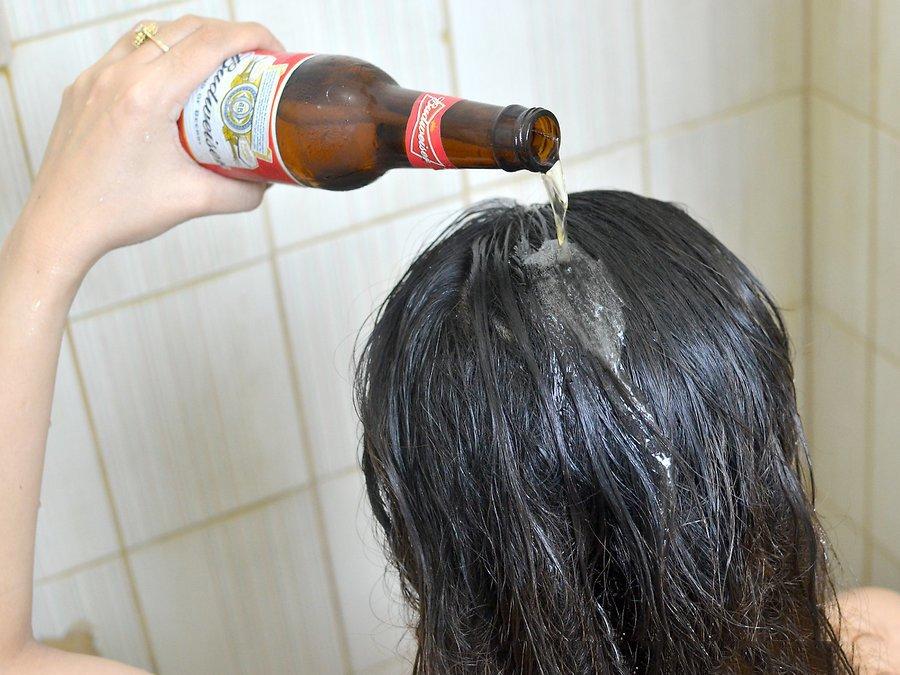 Mẹo dùng bia dưỡng tóc cực đơn giản & hiệu quả cho bạn