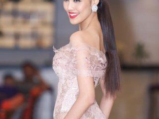 Lan Khuê – nàng mẫu trung thành với tóc dài thẳng mượt nhưng chưa bao giờ hết hot