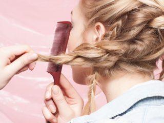 6 Kiểu thắt tóc cho ngày mưa gió bão bùng