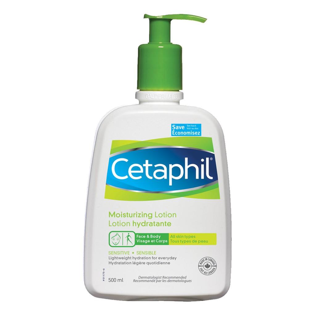 Kem dưỡng ẩm cho da nhạy cảm Cetaphil Moisturizing Lotion