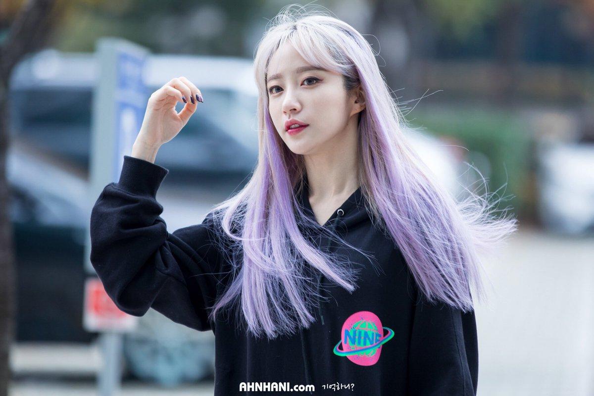 Màu tóc nhuộm 2019 - Màu Tím Nhạt