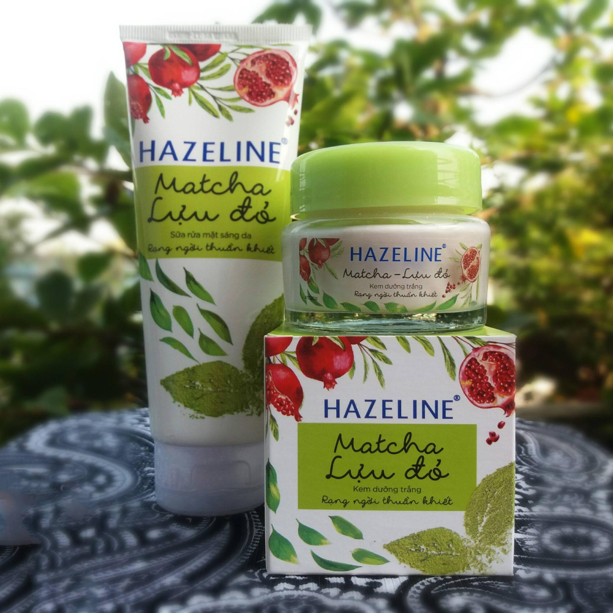 Bộ kem dưỡng trắng Hazeline