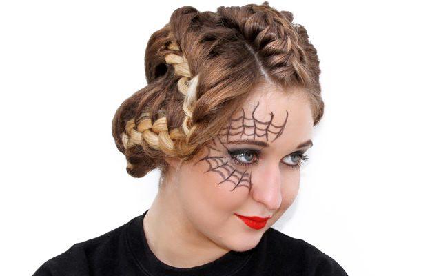 <span class='p-name'>Halloween đã cận kề nhưng chưa biết hoá trang gì? Thử ngay kiểu thắt tóc này nhé!</span>