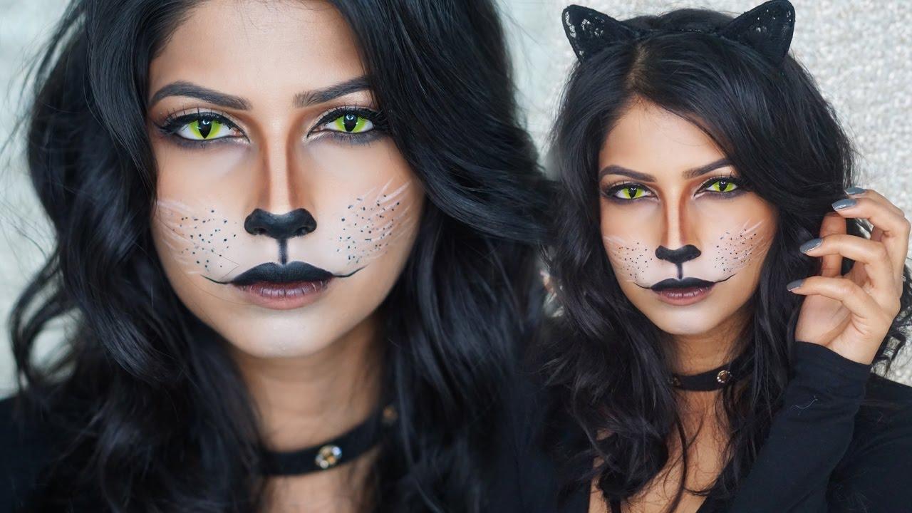 Trang điểm Halloween - Cô mèo quyến rũ