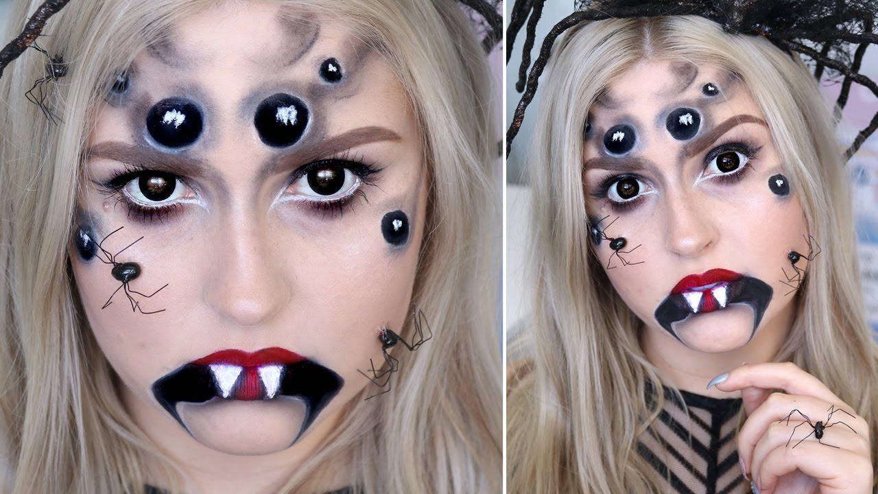 Nữ hoàng nhền nhện trong đêm Halloween