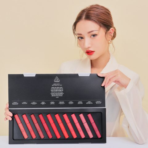 Review Bảng màu 3CE 2020 Lip Tint Kit có gì nổi bật?