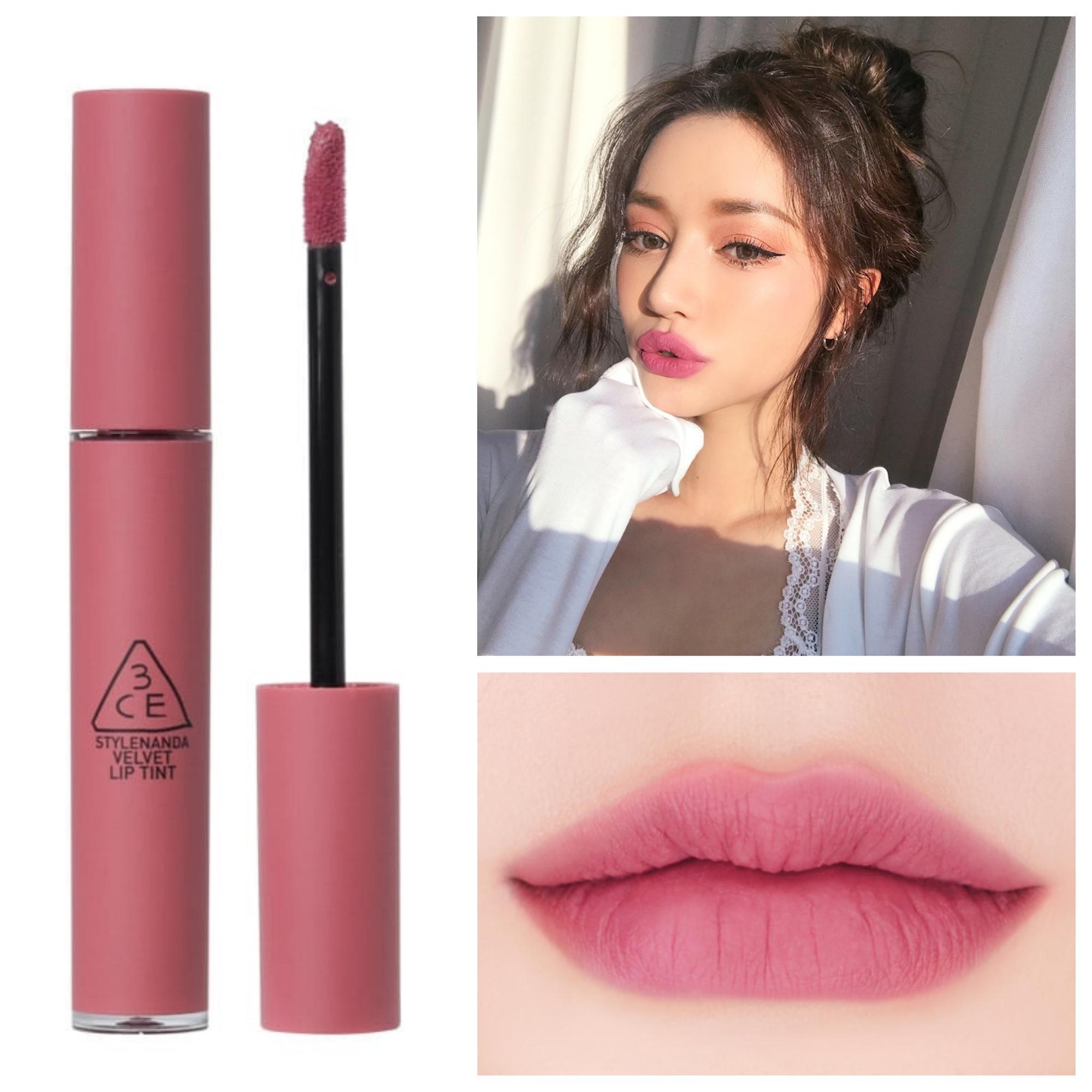 Bảng màu son 3CE Velvet Lip Tint Go Now