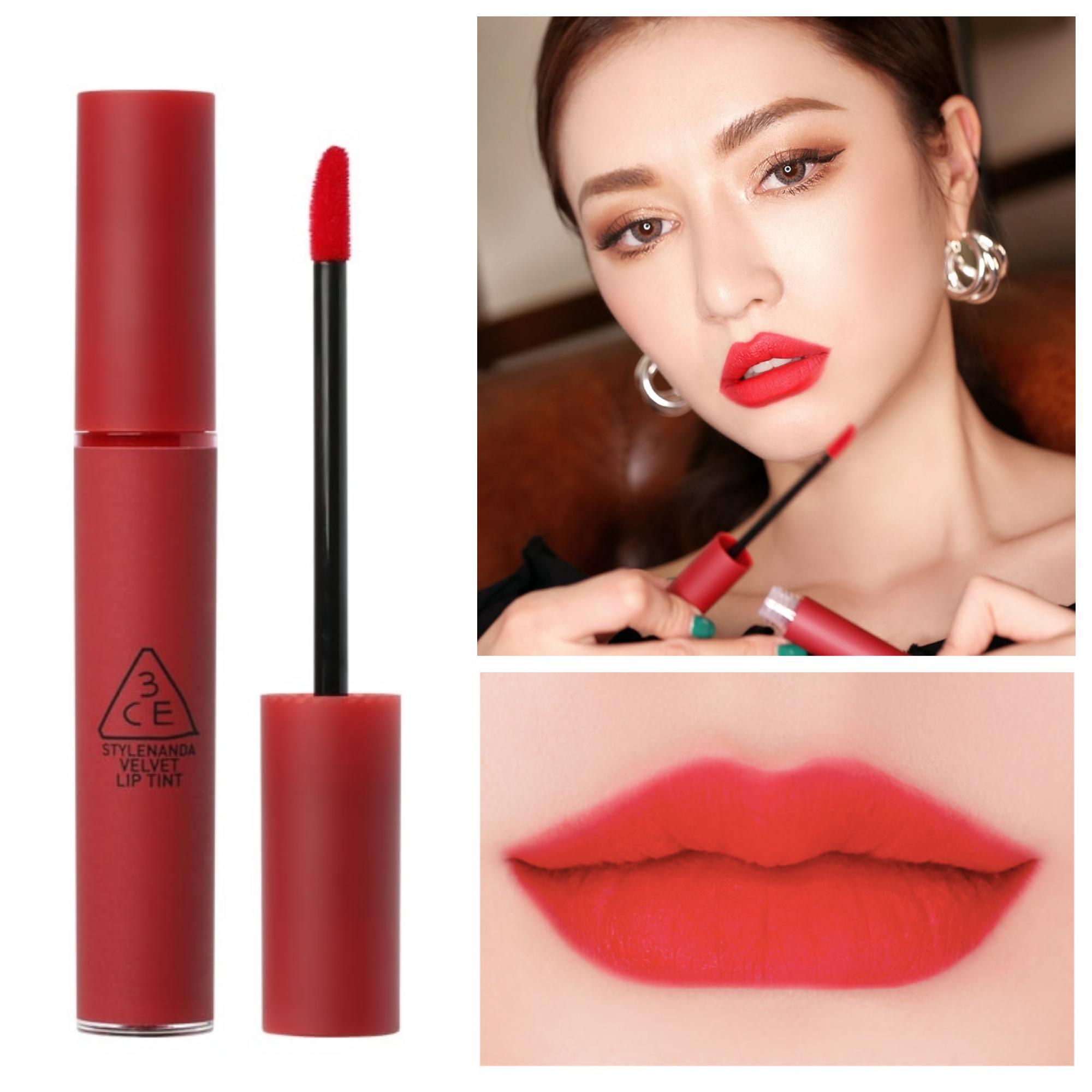 Bảng màu son 3CE Velvet Lip Tint Private