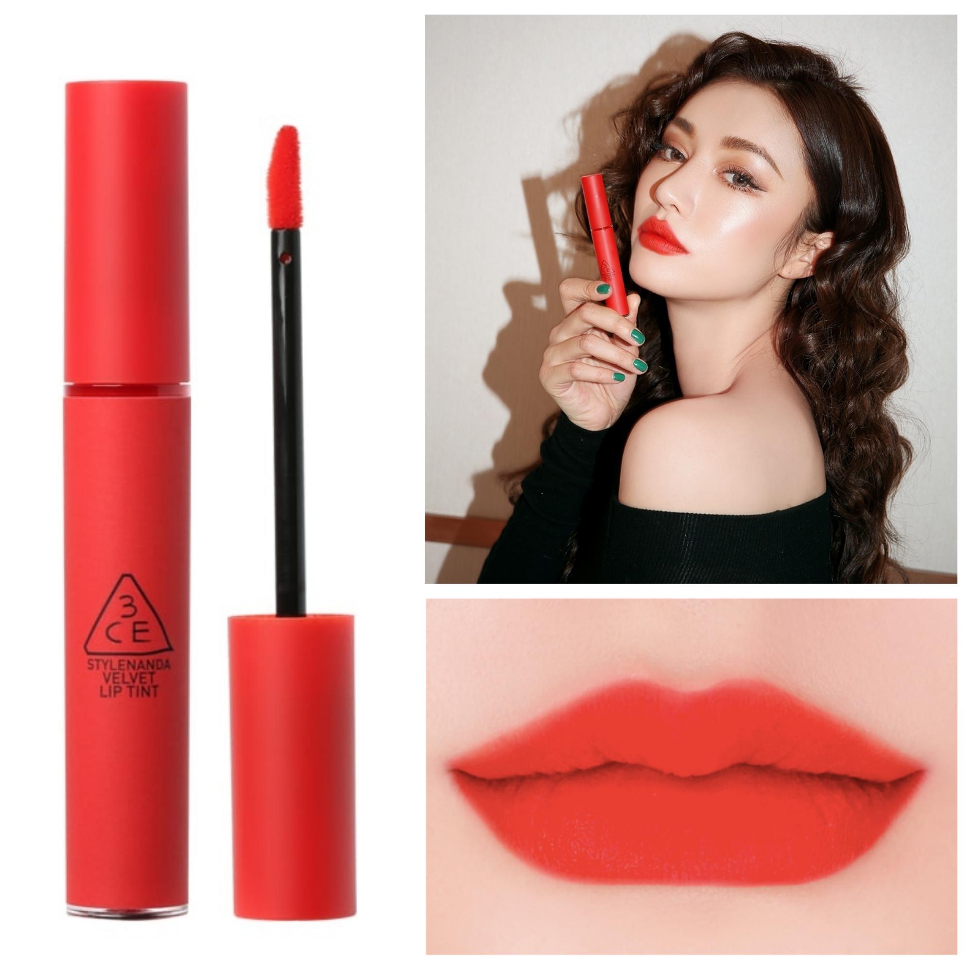 Bảng màu son kem 3CE Velvet Lip Tint Child Like