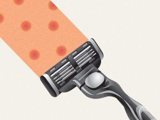 Làm sao để vùng da dưới cánh tay không đau rát khi dùng dao cạo?