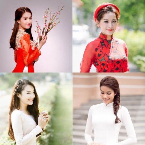 4 kiểu tóc cô dâu đẹp 2020 kết hợp cùng áo dài
