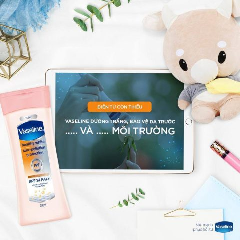 Vaseline – Sữa dưỡng thể vừa dưỡng da vừa chống nắng