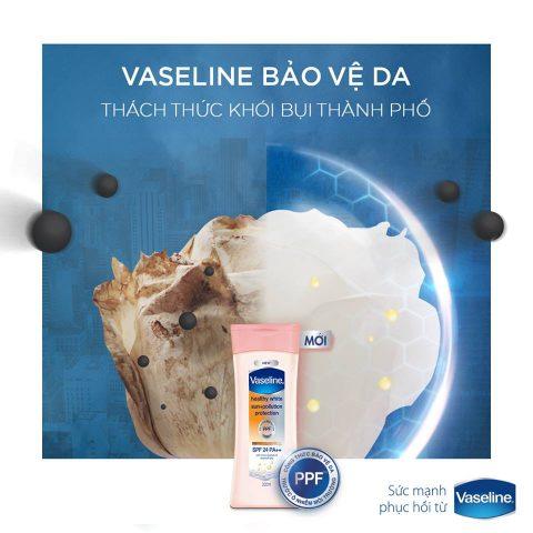 """3 tiêu chí """"được lòng dân"""" của sữa dưỡng thể trắng da vaseline"""