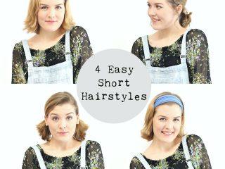 4 Kiểu tóc ngắn dễ thương cho những buổi tiệc đơn giản
