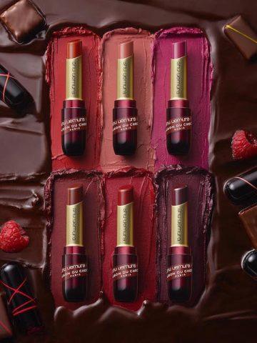 Cực phẩm màu son dịp cuối năm 2021: Khi Shu Uemura và thương hiệu socola La Maison Du kết hợp