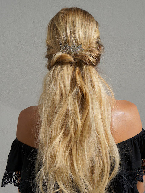 Đẹp ngọt ngào không kém cô dâu với 3 kiểu tóc đơn giản sau