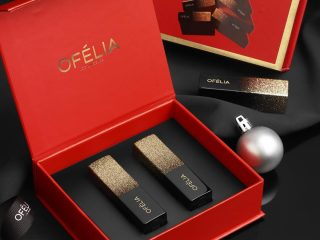 """Review """"nóng hổi"""", vừa thổi vừa xem: Ofélia Starlight Velvet Lipstick phiên bản màu mới cho mùa lễ hội 2018"""