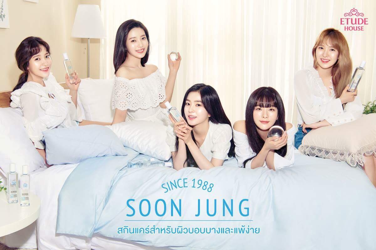 Red Velvet với Soon Jung