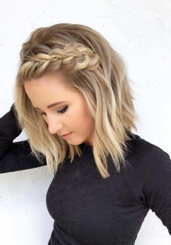 Các Kiểu Tết Tóc Đẹp dành cho nàng tóc ngắn