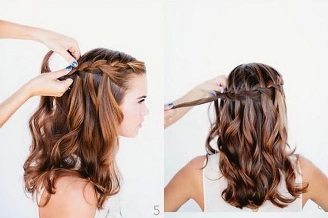kiểu tóc đi đám cưới