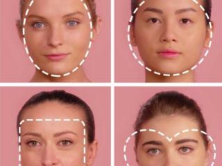 4  Cách tạo khối cho khuôn mặt theo từng dáng mặt chuẩn nhất