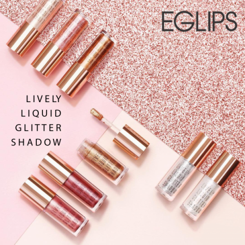 Nhũ mắt Eglip Lively Liquid Glitter Shadow