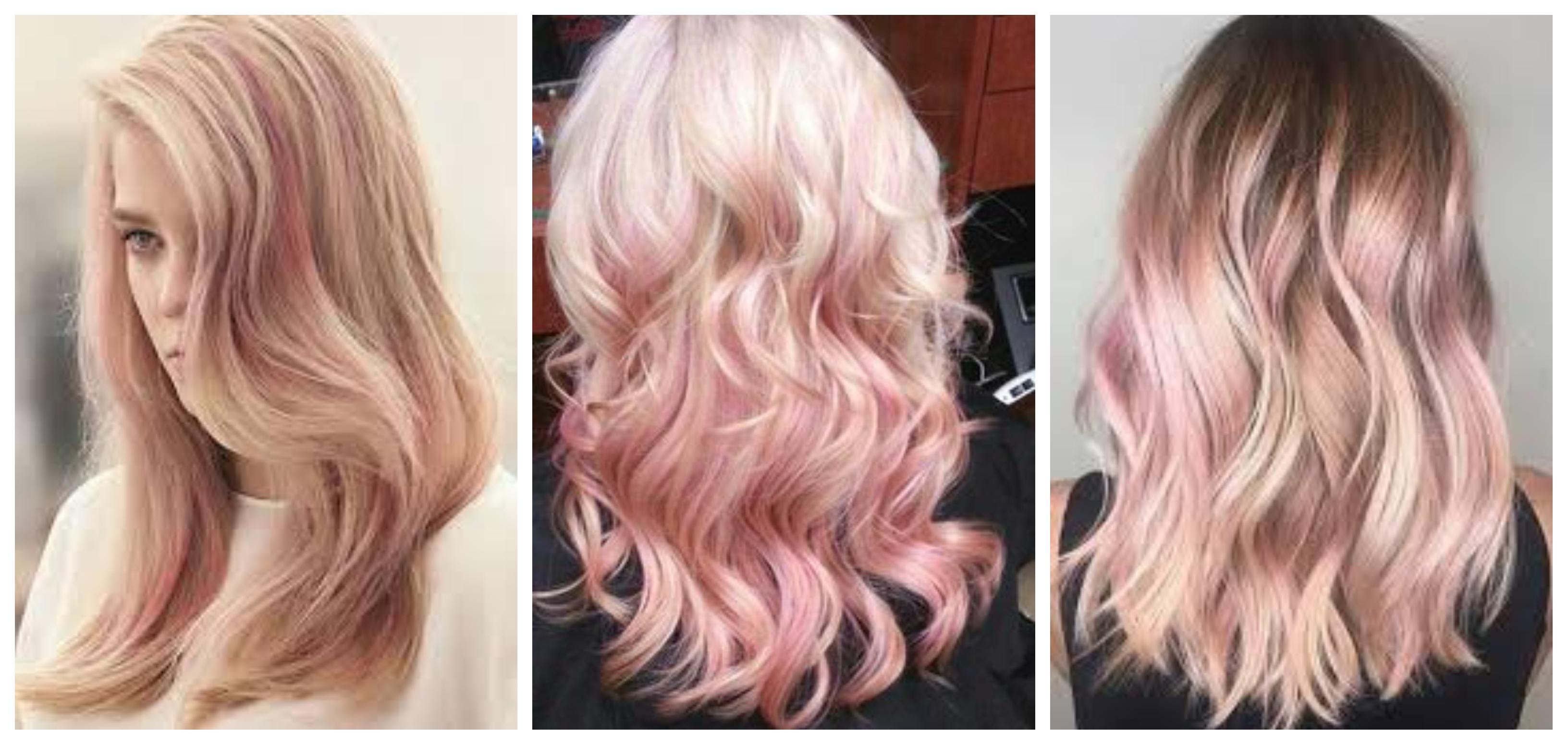 Màu tóc sâm banh