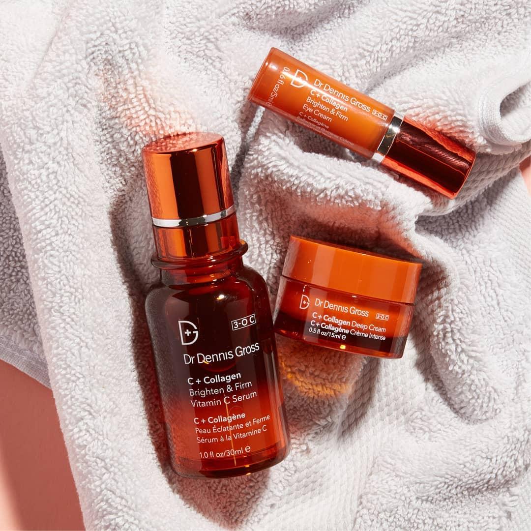 Dr. Dennis Gross Skincare Vitamin C+ Collagen Brighten & Firm Eye Cream