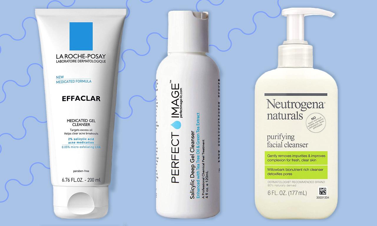 5 dòng sữa rửa mặt cho da nhạy cảm dễ nổi mụn