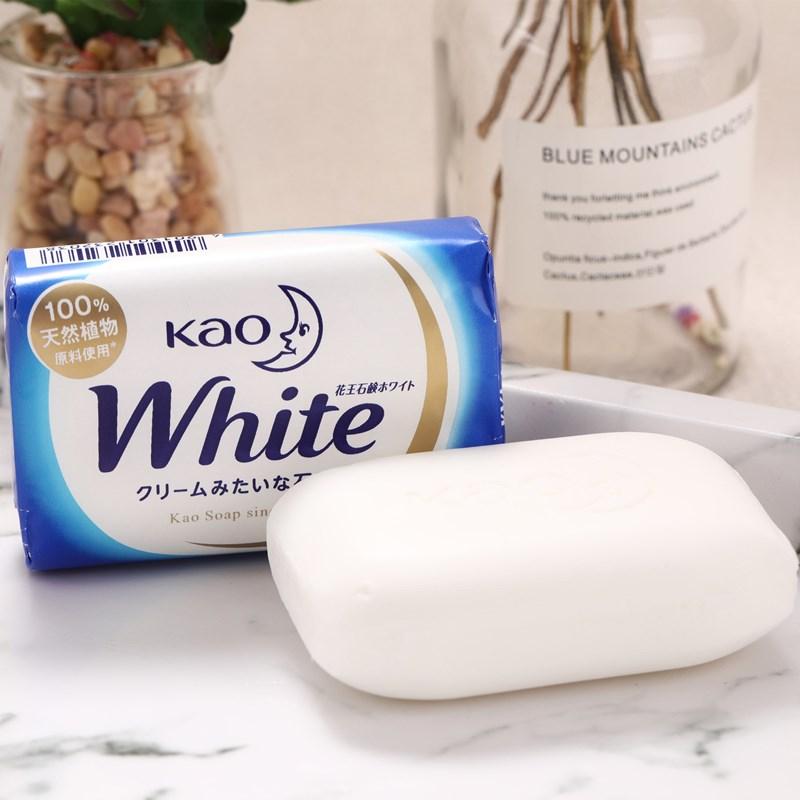 xà phòng tắm trắng Kao White Soap