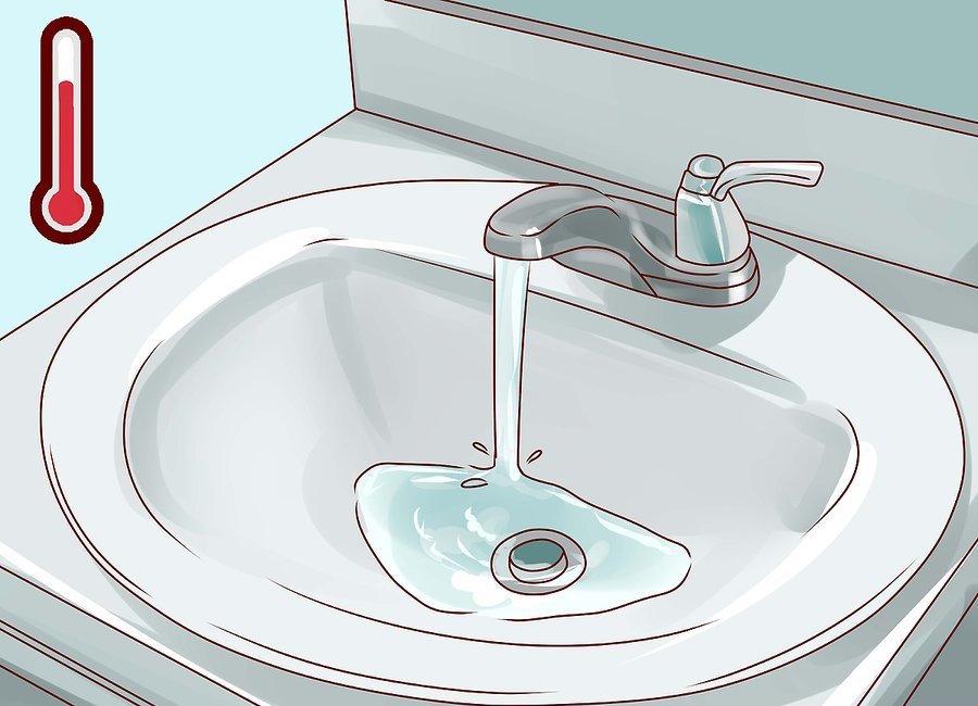 Sử dụng nước ấm hoặc nước mát
